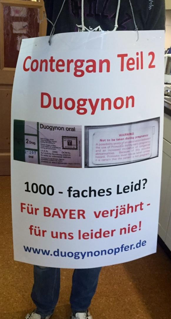 Mehr als 100 große Plakate zur BAYER HV sind fertig. Kommen auch Sie mit!